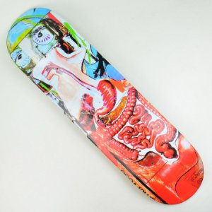 Shape Skate Drop Dead Heat Transfer Sesper 4 - 8.4""