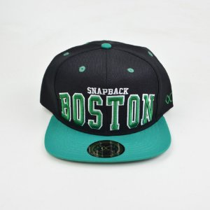 Boné Other Culture Snapback Boston Preto Verde