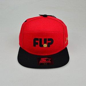 Boné Flip Snap Razors Verm