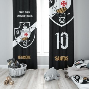 Cortina Blecaute do Vasco - Personalizada