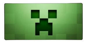 Mouse Pad Gamer Minecraft Creeper - 90cm x 40xm - Modelo 2