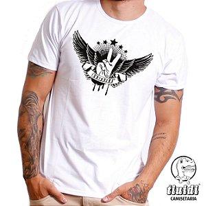 Camiseta Tiuidi Paz e Amor