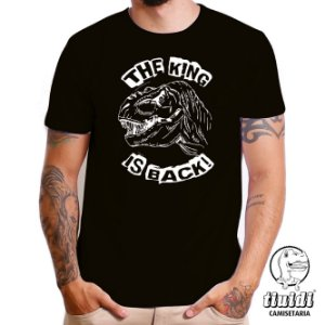 Camiseta Tiuidi The King Is Back
