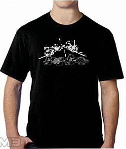 Camiseta Tuidi Dino Beatles
