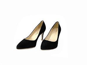DUPLICADO - Scarpin Bico Fino e Salto Fino Preto - Dalí Shoes