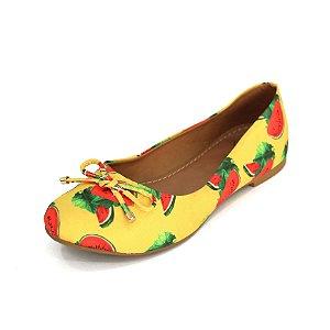Sapatilha Infantil Dali Shoes Cetim Bico Redondo