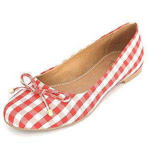 Sapatilha Dali Shoes Cetim Bico Redondo