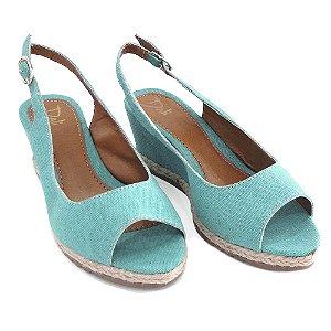 Sandália Anabela Dali Shoes Slingback