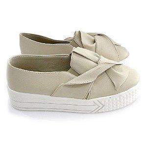 Tenis Dali Shoes Slip On Flatform Laço