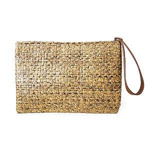 Bolsa de Mão Dalí Shoes Palha Handbag