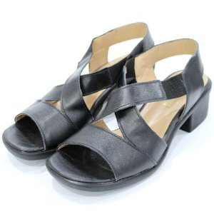 Sandália Couro Dalí Shoes MaxiComfort