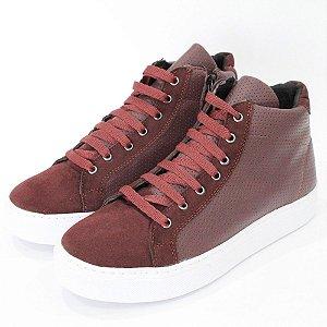 Tênis Dali Shoes Cano Alto com Cadarço