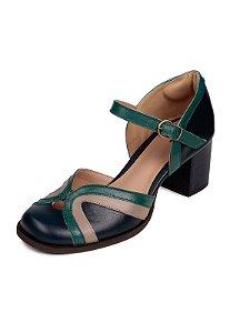 Sapato Boneca Couro Dali Shoes Bico Redondo