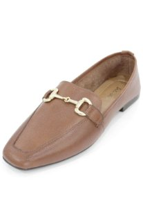 Mocassim Couro Dali Shoes com Bridão