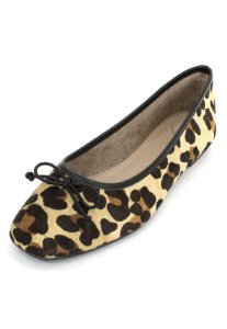 Sapatilha Couro Dali Shoes Animal Print Oncinha