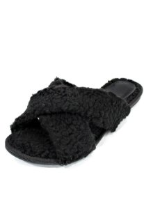 Homewear Slide Dali Shoes Paty Pêlo Carneirinho