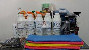 KIT START - Lavagem a seco e Higienização de interior (Iniciante)