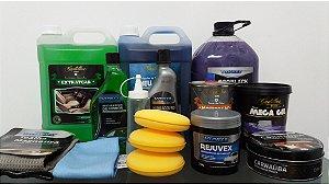 KIT PREMIUM - Lavagem Ecológica e higienização detalhada