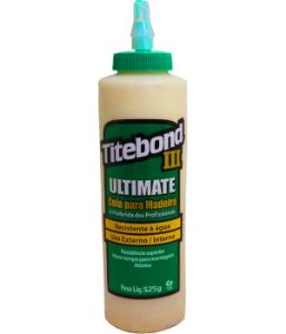 Cola Para Madeira Titebond III Ultimate Wood Glue - 510g