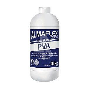 Cola Branca Almaflex Adesivos PVA 1 Kg