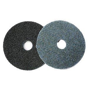 Disco De Surface 115mm Com Velcro Azul 4-1/2 Pol.