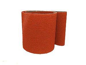 Cinta de Lixa 1490x150mm Para Aço, inox, alumínio Grão 24