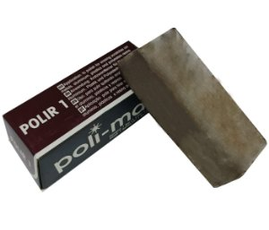 MASSA DE POLIR MARROM METAIS EM GERAL 145g - POLIMAX