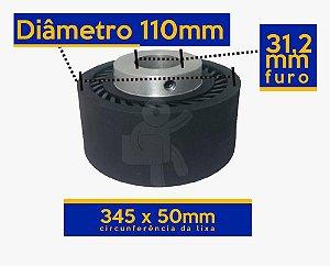 ROLETE EXPANSIVO 110 MM DE DIÂMETRO CIRCUNFERÊNCIA 345X50MM