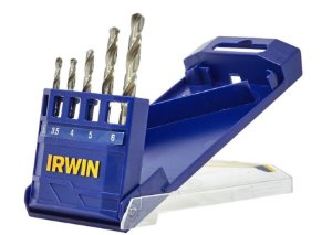 Jogo De Brocas Aço Rápido Com 5 Peças 3-6Mm - 1865307 - Irwin