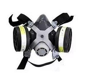 Máscara com Respirador Semi Facial Mig12 Com 2 Filtros - Destra Brasil