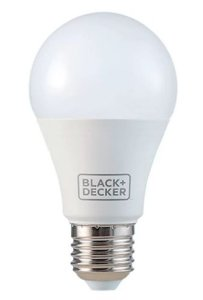 Lâmpada Bulbo LED A60 9W 6500K Branca 100-240V - BLACK+DECKER Ref. BDA6-0800-02