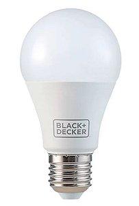 Lâmpada Bulbo LED A60 11W 6500K Branca 100-240V - BLACK+DECKER Ref. BDA6-1000-02