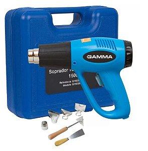 Soprador Térmico 1500W com Maleta e 6 Acessórios - GAMMA-G1935K
