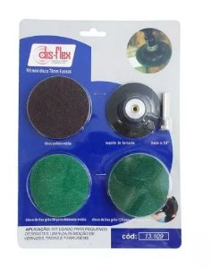 Kit Mini Disco 76mm 4 pçs. - DIS-FLEX