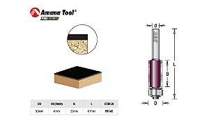 Fresa Amana Tool - Reta/Paralela Com Rolamento inferior 9,5mm X 25mm FR142