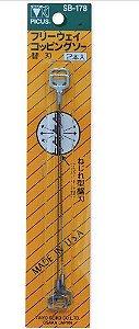 Lâminas de Reposição SB-178 Para Serrote Picus CS-178 - Pack C/ 2 laminas