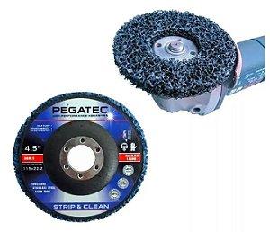 Disco Remulver 115mm Strip & Clear - Pegatec