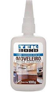Cola de Adesivo Instantâneo Moveleiro 100g - Tekbond