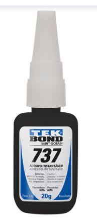 Cola de Adesivo Instantâneo Multiuso 737 20g - Tekbond