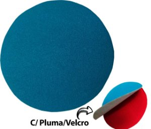 """Disco de Lixa Com Velcro 125mm 5"""" SEM Furo Grão 60"""