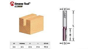 Fresa Amana Tool - Age Reta Paralela 6mm FR110
