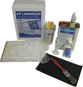 Kit Laminação Reparos com fibra de vidro - SIQUIPLÁS