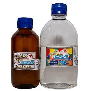 Resina Incolor Vitrificação Bicomponente 600gr - SIQUIPLÁS