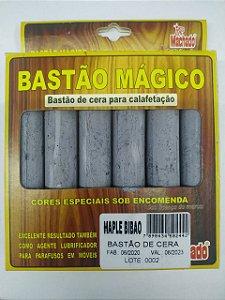 BASTÃO DE CERA PARA CORREÇÃO DE MADEIRA MAPLE BILBAO CAIXA C/ 6 - MACHADO
