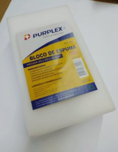 BLOCO DE ESPUMA 60X130X225MM - PURPLEX