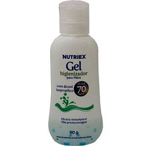 Álcool Gel 70º inpm Anti-séptico Higienizador Para Mãos 90 grs - Nutriex