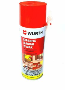 ESPUMA EXPANSIVA 500ML 470GRS - WURTH