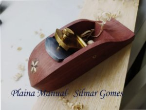 PLAINA BLOCK DE MADEIRA MASSARANDUBA 130MM - SILMAR GOMES