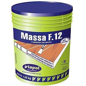 MASSA F12 - BRANCA 1,65KG - VIAPOL