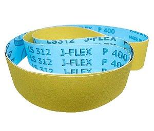 JF - CINTA DE LIXA 2000X50MM FLEXÍVEL J FLEX PARA MADEIRA, FERRO, AÇO, INOX
